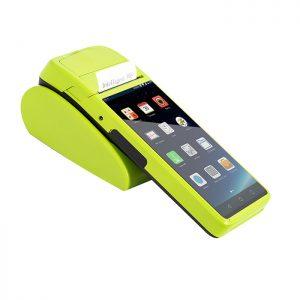 """Thông số: Hệ điều hành: Android 6.0 CPU: MTK MT6580 1.3GHZ 4 nhân Ram : 1G Bộ nhớ trong: 8GB Màn hình hiển thị: 5.5"""" 1280×720 Công nghệ cảm ứng: Cảm ứng đa điểm Camera: 5 MP Kết nối: Wifi 802.11, 3G,USB type C Hỗ trợ khe cắm sin Tích hợp máy in khổ K58 Pin: 5200mAh"""