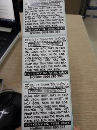 MUA SỐ LƯỢNG LỚN LIÊN HỆ GIÁ TỐT 090699039  Giấy decal cảm nhiệt(in nhiệt trực tiếp, không cần mực), in tem nhãn mã vạch,1 tem/hàng, cỡ tem50x30(mm), cuộn dài30m(910 tem/cuộn), khổ giấy54mm(chiều cao cuộn giấy)