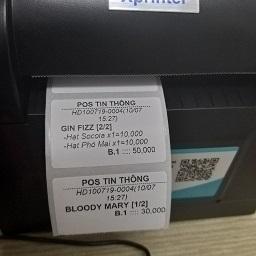 MUA SỐ LƯỢNG LỚN LIÊN HỆ GIÁ TỐT 0906990393  Giấy in tem, in mã vạch .Loại 1 tem một hàng Khổ chuẩn: 40x30mm , 1 tem Kích thước: 30m Tồn Kho: Còn Hàng