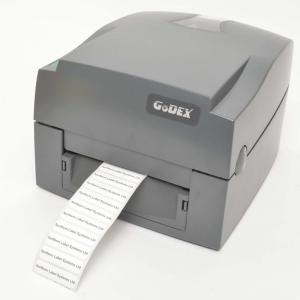 """Máy in mã vạch GoDEX G500 là lựa chọn lý tưởng để in trên các loại vật liệu chuyên ngành và đặc biệt là ứng dụng cho bán lẻ và công nghiệp nhờ chức năng """"Sensor đôi"""" đặc biệt.Tính năng nổi bật:  Thiết kế mạnh mẽ, bền chắc  Phù hợp cho nhu cầu in hàng loạt như in nhiều sản phẩm, serial, tag tài sản, trang sức...  Có thể tùy chọn: label cutter và dispenser."""