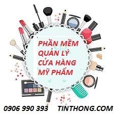 Phần mềm quản lý cửa hàng mỹ phẩm  Hotline 0906990390