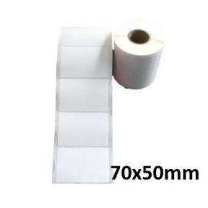 MUA SỐ LƯỢNG LỚN LIÊN HỆ GIÁ TỐT 090699039  Giấy decal 1 tem 70x50mm, dài 50m (in tem nhãn mã vạch)