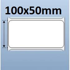 MUA SỐ LƯỢNG LỚN LIÊN HỆ GIÁ TỐT 090699039  Giấy decal in tem nhãn mã vạch 1 tem 100x50mm, 50m (in với ruy băng mực)